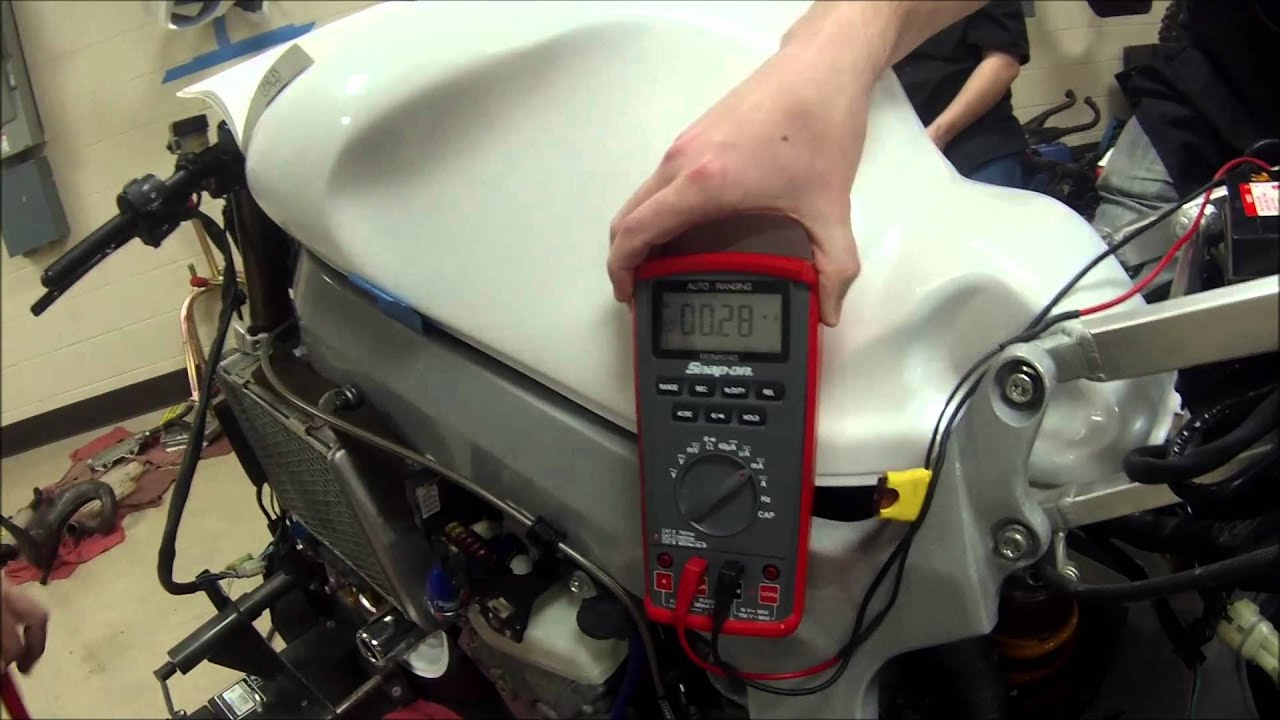How To Test Current Draw On A Motorcycle Charging System