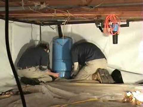 How To Install A Crawl Space Liner Youtube