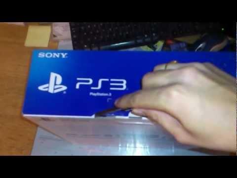 PS3 super slim Unboxing 500gb