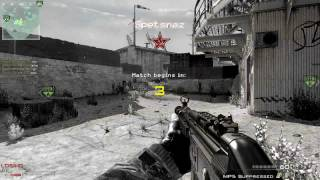 MW3 S&D Gameplay| 16-1 | Dome, MP5 Silencer | PC