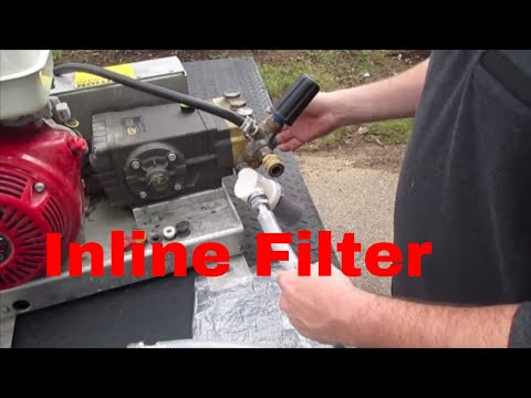 Pressure Washing Inlet Set Up Overview