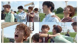 [2PM] 서로 안마 해주는 투피엠