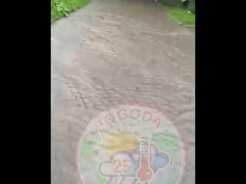 Потоп в Славянке в Приморском крае