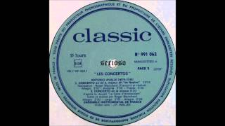 Vivaldi, Quatre concertos, RV 256, RV Anh  15, L