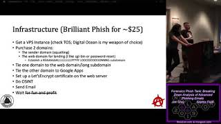NolaCon 2019 Forensics Phish Tank Breaking Down Analysis of Advanced Phishing Emails Joe Gray S