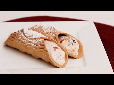 Chocolate Cherry Cannoli Recipe - Laura Vitale - Laura in the Kitchen Episode 879