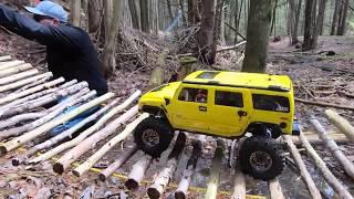 RedCat Gen8 Hummer H2 The SIMS Crawl Part 2 - Netcruzer RC