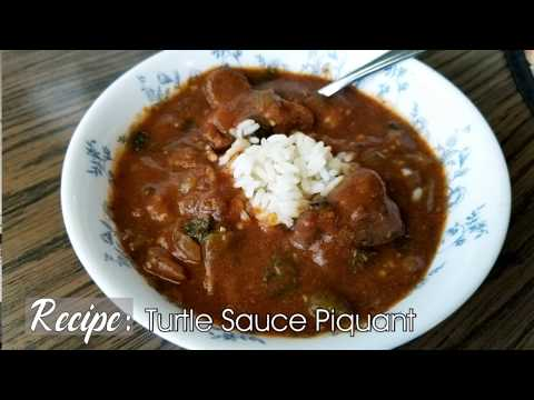 Turtle Sauce Piquant In Cajun French