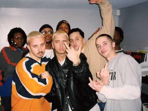 Rare Eminem Freestyle - Dj Snoyl circa 1999, Boston