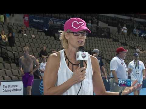 US Olympic Team Trials - Swimming: Deck Pass Live Day 5: Dara Torres Interview