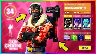How to CUSTOMIZE your CHARACTER in FORTNITE! (Fortnite Battle Royale Custom Skin Feature)