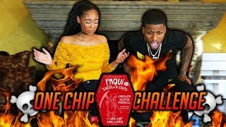 THE ONE CHIP CHALLENGE! (DON'T TRY THIS AT HOME)