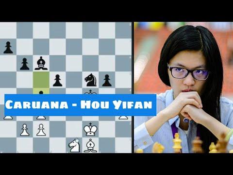 Hou Yifan Misses Her Chance To Enter The History Books! | Fabiano Caruana - Hou Yifan