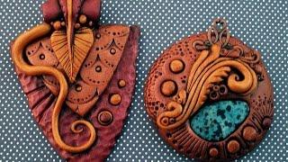 видео красивые изделия из полимерной глины