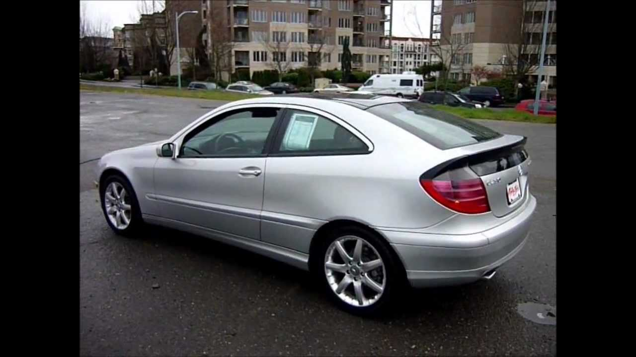 2002 mercedes benz c230 coupe 2 3l kompressor 88kms