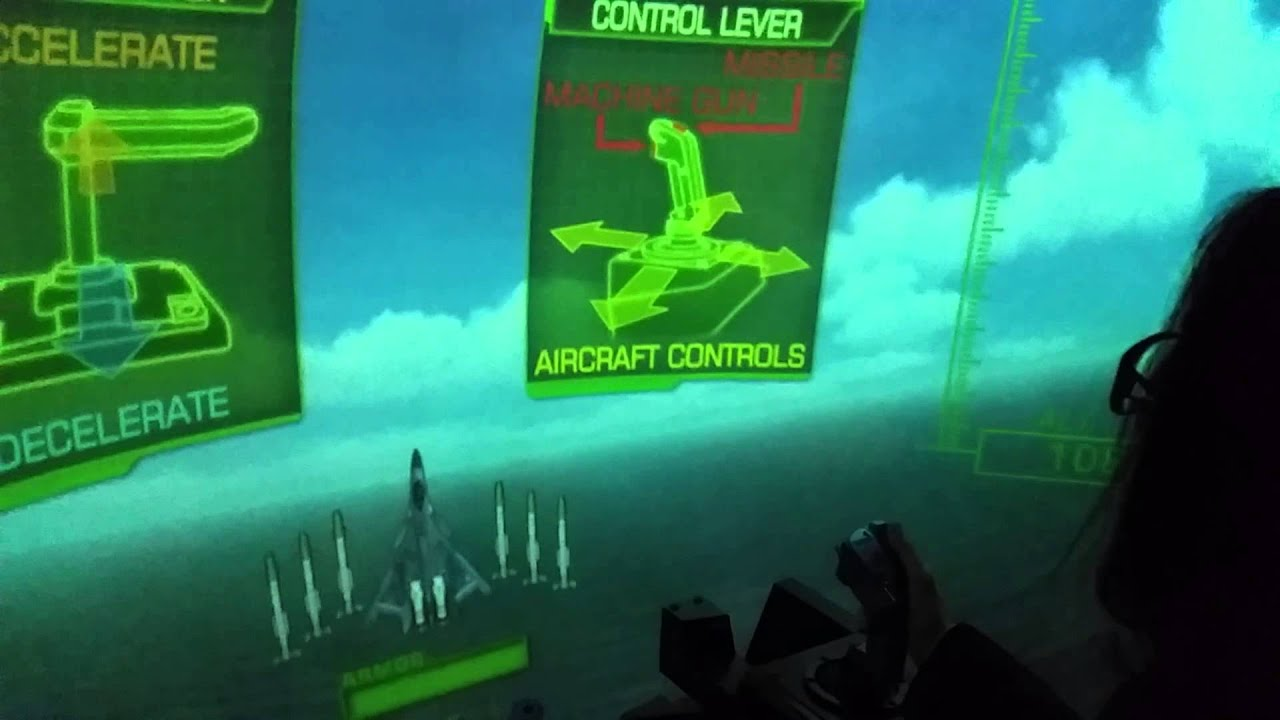 Dave And Buster Flying Simulator Epic Fail Youtube