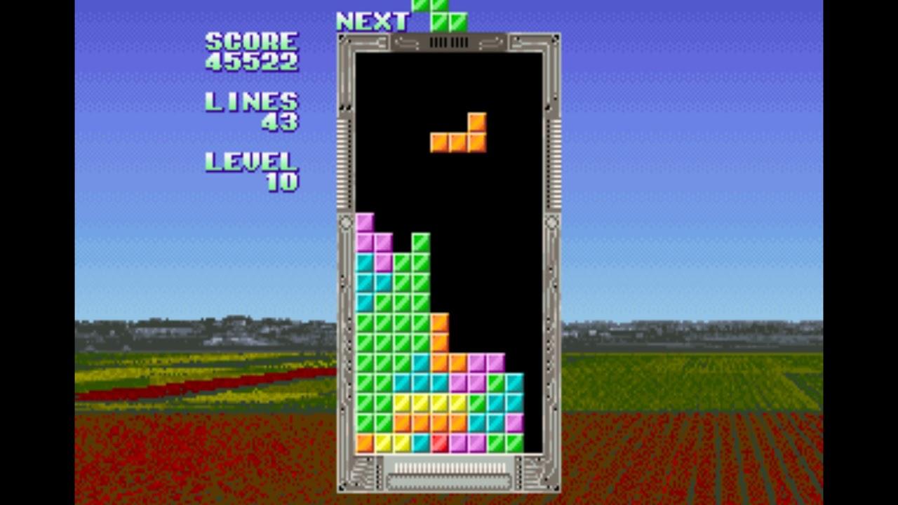 Sega Tetris (1988) 92,957