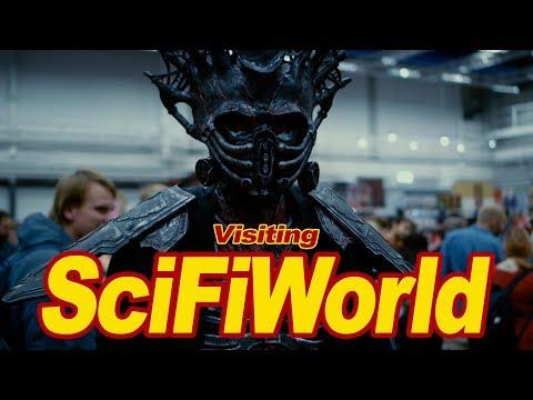 Visiting Sci Fi World Stockholm