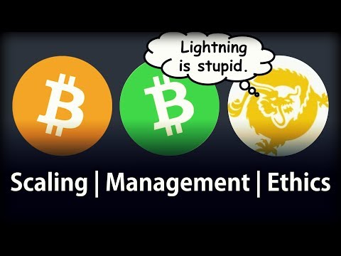 Bitcoin Core, Cash, SV Compared | Scaling Debate | My Opinion