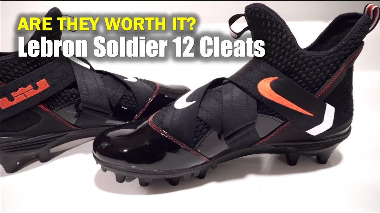 various colors 326c1 2feae Are the LeBron Soldier Cleats Worth It ⁉   4K
