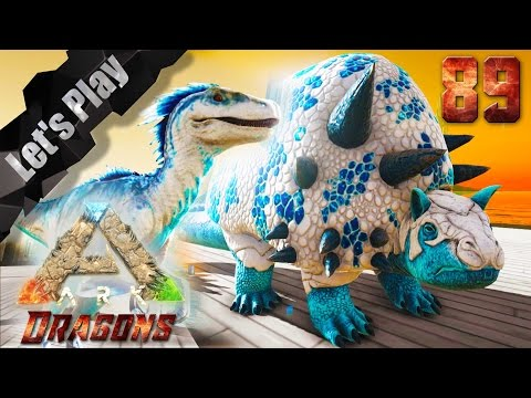 ARK Survival Evolved 89# Annunaki Badass Ice Duedicus und Raptor/ ARK Dragsons / Ecrofwodahs