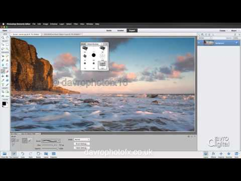 Copyright, Signature Brush Photoshop Elements
