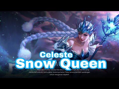 Vainglory New Skin Hero Snow Queen (Celeste)