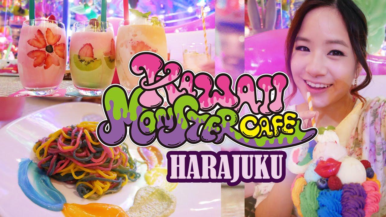 Japan Vlog Harajuku Kawaii Monster Cafe かわいいモンスターカフェ