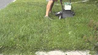 DIY electric lawn mower