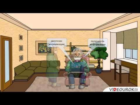 Видеоурок по информатике на тему информация