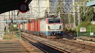 [단편 영상] 경부선 천안역 고속컨테이너화물열차 #38…