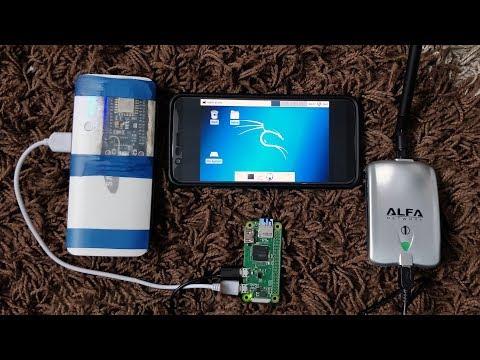 Самодельная хакерская машина | Raspberry Pi 0 W + Kali Linux