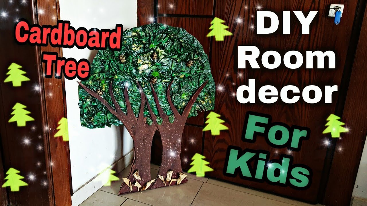 Diy Kids Craft Room Decor Idea For Kids How To Make Tree Out Of