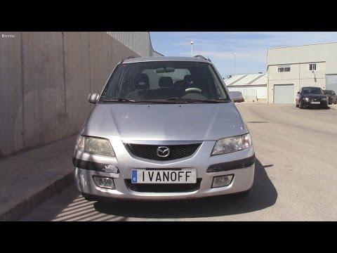 Ремонт автомобиля Mazda Premaci с двигателем RF   2,0D, замена термостата
