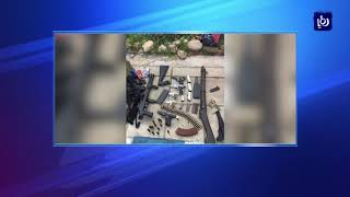 الأجهزة الأمنية تلقي القبض على 10 أشخاص بحوزتهم مواد مخدرة وأسلحة نارية - (13-3-2018)