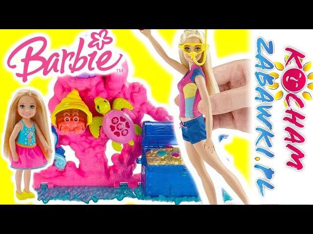 Barbie Delfiny z Magicznej Wyspy • Nauka pływania z delfinami • bajki po polsku
