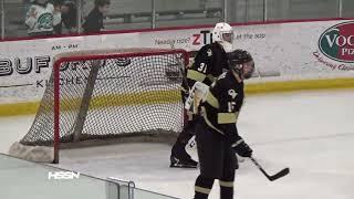 PIHL Semifinals Hockey Highlights of Pine-Richland vs Quaker Valley