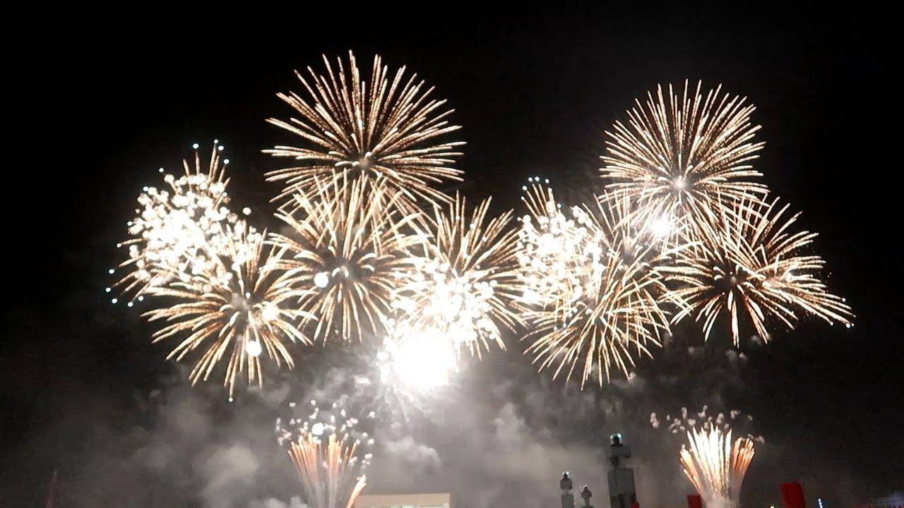 UAE 48th National Day celebration Fireworks at Dubai Festival City