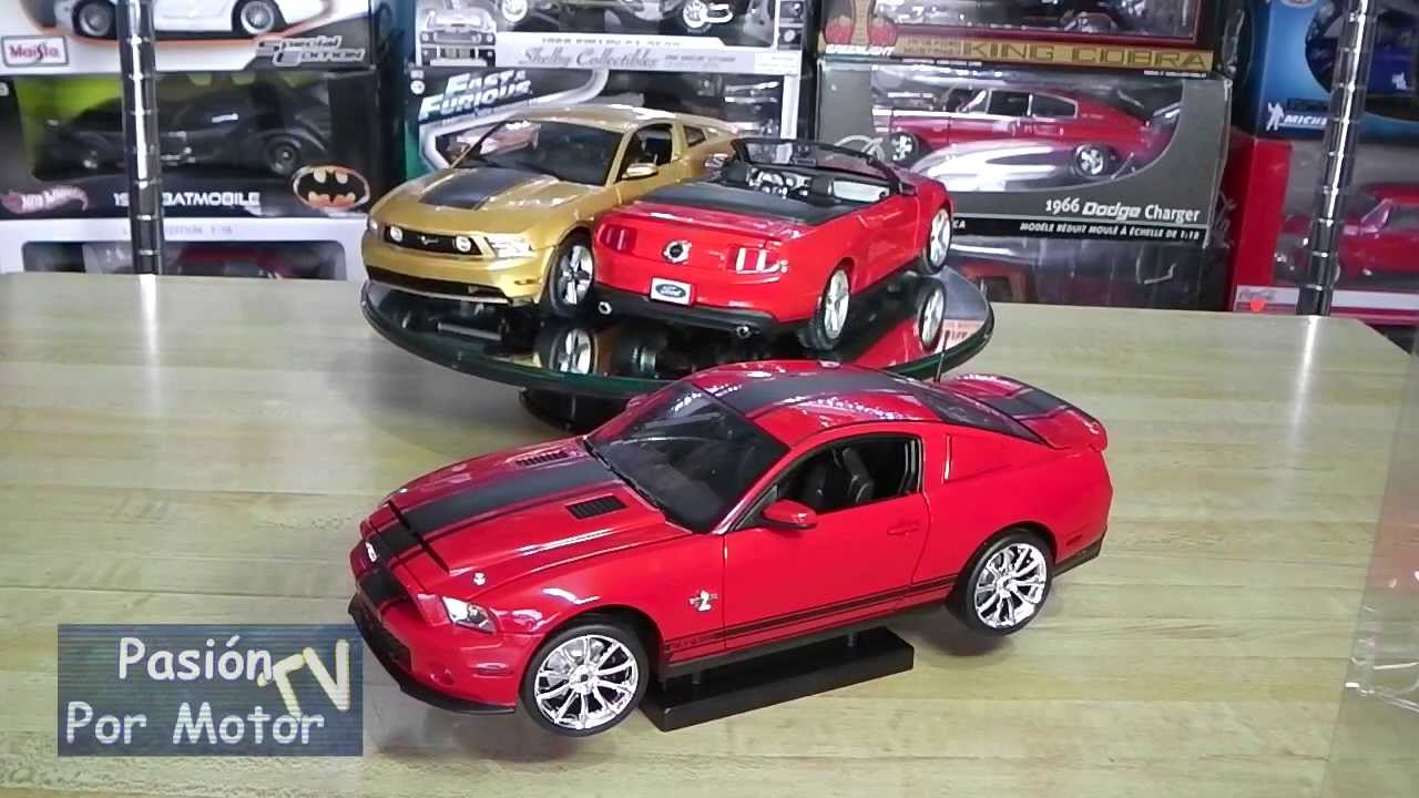 Versus 1 18 Ford Mustang Gt Coupe Y Convertible Y Shelby