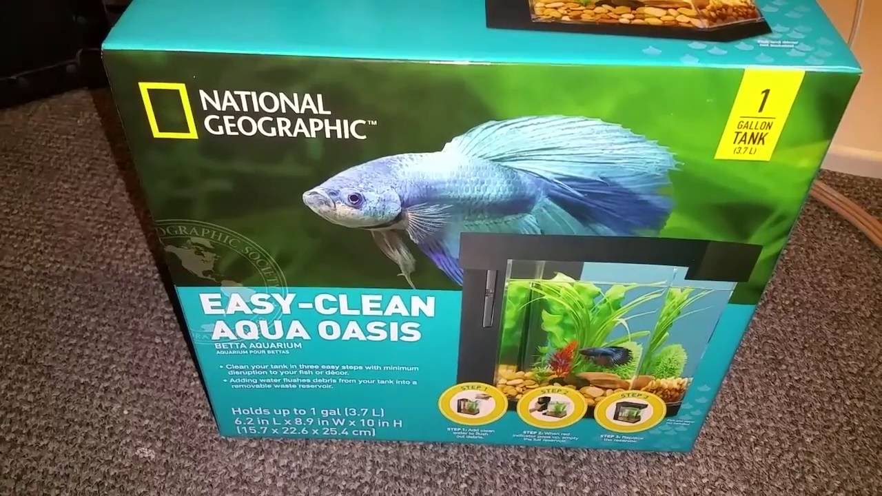 National geographic easy clean unboxing youtube for How to clean a fish tank without killing the fish