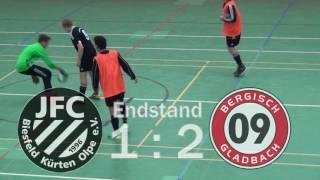 Fußballkreis Berg - Junioren Hallenpokal B- und C-Jugend 2016/17