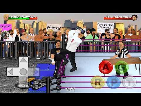 Wrestling Revolution Stream I got a new company #Hollywood #beat the president #DonaldTrump #8