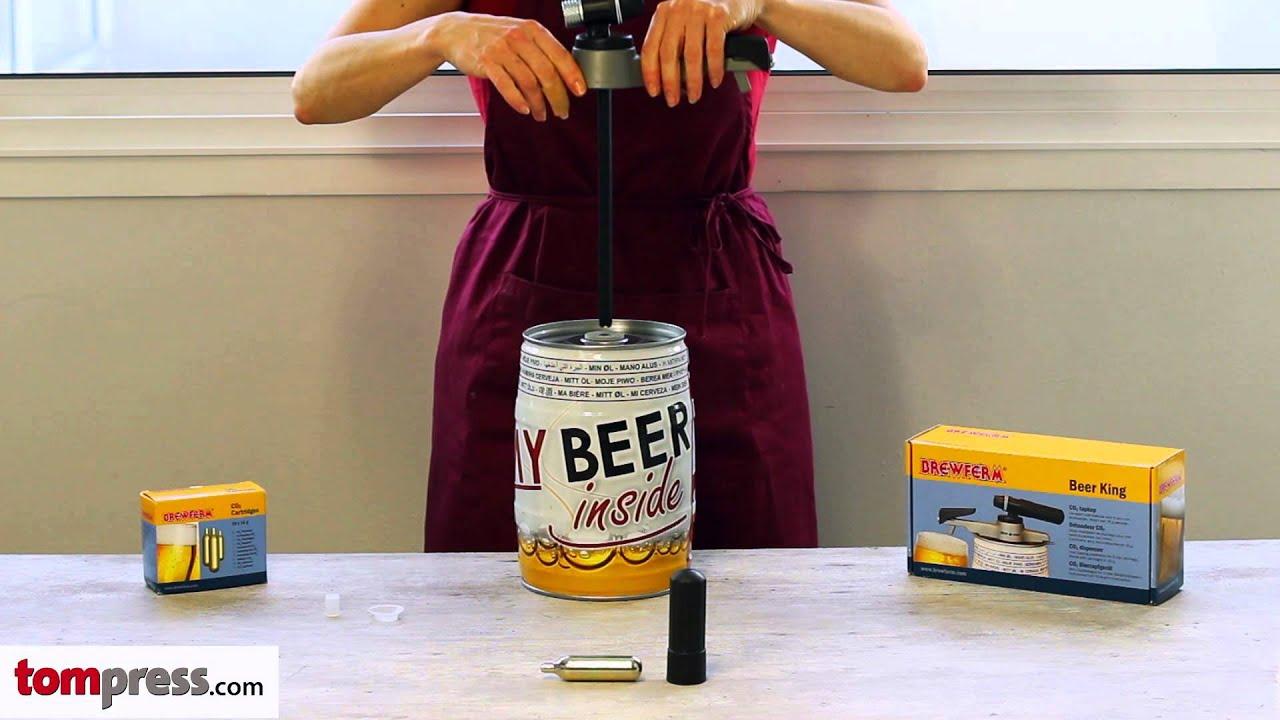 Top Montage et utilisation de la pompe à bière sur fût de 5 l. - YouTube WC77