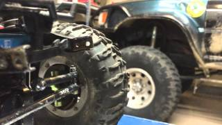 My axial scx10 trail honcho - upgrades