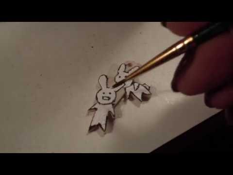 Making a Bunny Pendant