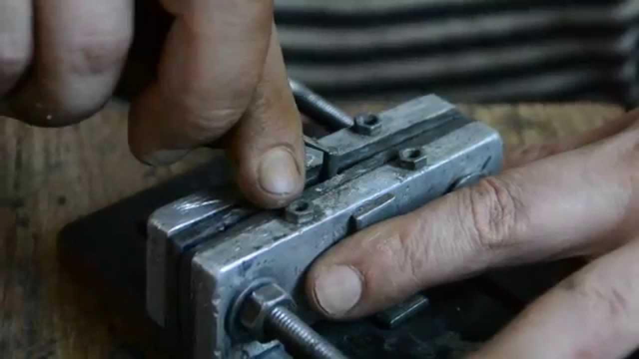 Штамп изготовление своими руками