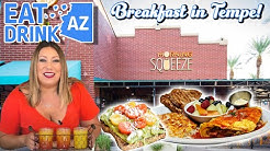 Morning Squeeze best brunch & breakfast in Tempe, Arizona! Arizona State brunch spot on Mill Ave.