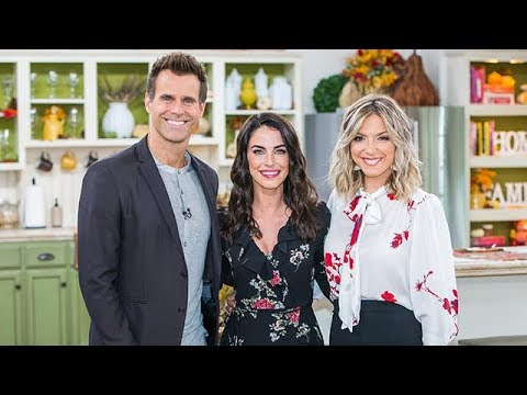 Jessica Lowndes visits  Home & Family