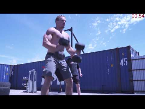 Brute Strength Challenge 1: 30 DB Clean and Jerks