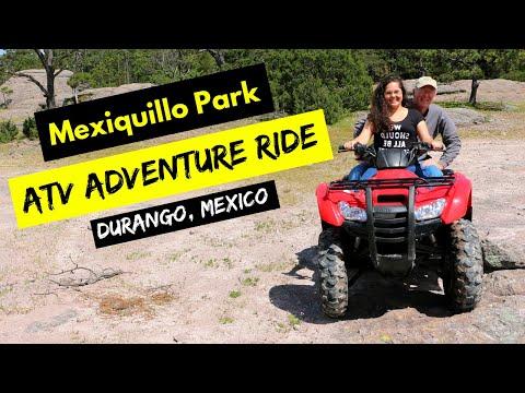 ATV Adventure Ride: Mexiquillo Park, Durango Mexico